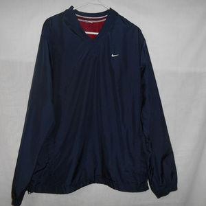 Nike Navy Blue Pullover Jacket Vintage 90's